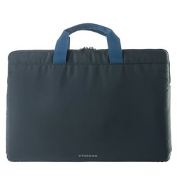 "Tucano Minilux notebook case 35.6 cm (14"") Sleeve case Grey BFML1314-DG"