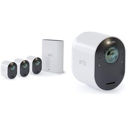 ARLO ULTRA VMS5440 KIT VIDEOSORVEGLIANZA WI-FI CON 4 TELECAMERE 4K, AUDIO 2 VIE, LUCE, BLUETOOTH, VISIONE 180 DIURNA/NOTTURNA, I