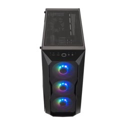 COOLER MASTER CASE MB500 ARGB MID TOWER, SIDE PANEL, MICROATX-MINI ITX, 2XUSB 3.2, 2XUSB 2.0, 1X3.5MM AUDIO JACK, 1X3.5MM MIC JA