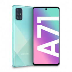 Samsung Galaxy A71 SM-A715F/DS 17 cm (6.7) 6 GB 128 GB Dual SIM 4G USB Type-C Blue Android 10.0 4500 mAh SM-A715FZBUITV