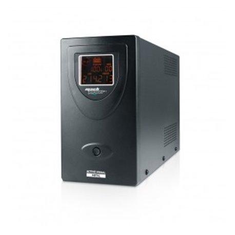 MACHPOWER UPS 2000VA/1200W METAL LCD 2x12V/9Ah, 2xOUTP.,1xUSB, SOFTWARE