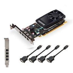 PNY VGA QUADRO P1000DVI V2 4GB GDDR5 DP LOW PROFILE
