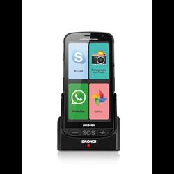 "Brondi Amico Smartphone 12,7 cm (5"") 0,512 Go 4 Go Double SIM 3G Micro-USB Noir Android 5.1 2000 mAh 10277030"