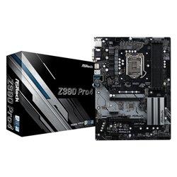 ASROCK MB Z390 PRO4 LGA 1151 4DDR4 2PCI-E X16 M2 DVI/HDMI ATX