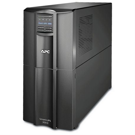 APC SMT3000IC SMART-UPS 3000VA LCD 230V. APC SMART-UPS, 2700WATTS/3000VA, INGRESSO 230V/USCITA 230V, INTERFACE PORT DB-9 RS-232,