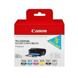CANON CART INK MULTIPACK CLI-551 B/C/M/Y PER MX 925