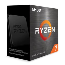 AMD CPU RYZEN 7 5800X 4,70GHZ 8 CORE SKT AM4 CACHE 36MB 105W WOF