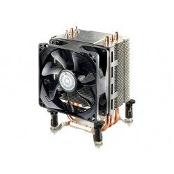 COOLER MASTER DISSIPATORE CPU HYPER TX3 EVO, TOWER, 92MM 800-2200RPM PWM FAN, 3 X 6MM DIRECT CONTACT HEATPIPE, INTEL LGA 1366 /
