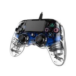 NACON COMPACT CONTROLLER LUMINOSO CON CAVO PER PLAYSTATION 4 BLUE (PC COMPATIBILE)