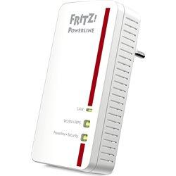 AVM FRITZ! POWERLINE 1260E, 2 PORTE LAN 10/100 WIRELESS N, ADATTATORE SINGOLO