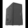 YASHI MT 6400 Mini Tower Intel® Pentium® Gold 8 Go DDR4-SDRAM 240 Go SSD Windows 10 Pro PC Noir