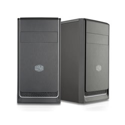 "COOLER MASTER CASE MASTERBOX E300L SILVER MINI TOWER MICROATX-MINI ITX, USB3X2, AUDIO IO, 1X 5,25"", 2X HDD 3.5"", 3X 2,5"" SSD, 12"