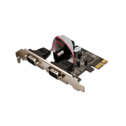 Digitus 2 x DB9 M interface cards/adapter Internal Serial DS30000