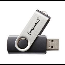 INTENSO PEN DISK 8GB USB 2.0 BASIC LINE BLACK