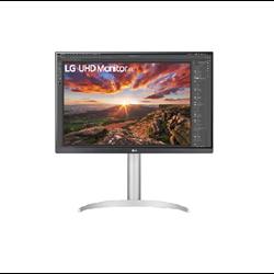 LG MONITOR 27 LED IPS 4K UHD 16:9 5MS 400 CDM, PIVOT, USB-C, HDMI, MULTIMEDIALE - BIANCO