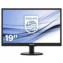 Philips V Line 193V5LSB2/01 LED display 47 cm (18.5) HD Preto