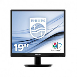 Philips S Line Moniteur LCD avec rétroéclairage LED 19S4QAB/00