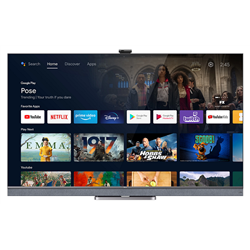 """TCL ANDROID TV 65"""" QLED UHD T2/C/S2 NERO"""