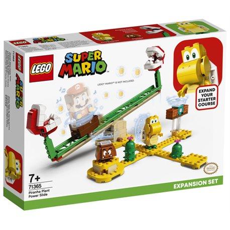 LEGO SUPER MARIO - SCIVOLO DELLA PIANTA PIRANHA - PACK DI ESPANSIONE
