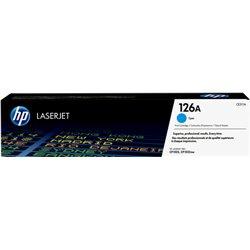 HP TONER CIANO 126A 1000 PAGINE PER CLJ CP1025