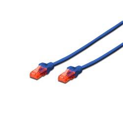 Digitus 0.25m Cat6 U/UTP cable de red 0,25 m U/UTP (UTP) Azul DK16170025B