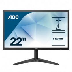 AOC Basic-line 22B1HS écran plat de PC 54,6 cm (21.5) 1920 x 1080 pixels Full HD LED Noir