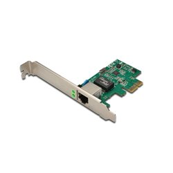 Digitus Gigabit PCI Express Card 10/100/1000 Mbit 32-bit, Realtek chipset, Incl. Low Profile Bracket Single-Lane PCI DN10130