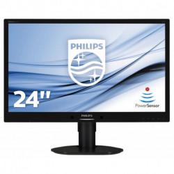 Philips B Line Moniteur LCD, rétroéclairage LED 241B4LPYCB/00