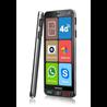 Brondi Amico S Nero 14,5 cm (5.7 Zoll) Dual-SIM 4G USB Typ-C 1 GB 8 GB 2800 mAh Schwarz