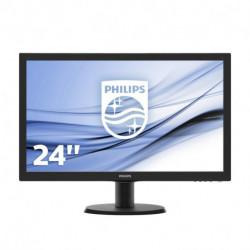 Philips V Line Monitor LCD com SmartControl Lite 243V5LSB/00