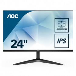 AOC Basic-line 24B1XHS monitor piatto per PC 60,5 cm (23.8) 1920 x 1080 Pixel Full HD LED Nero