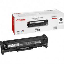 Canon CRG-718 Bk Original Negro 1 pieza(s) 2662B002