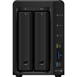 Synology DiskStation DS718+ NAS & Speicherserver Eingebauter Ethernet-Anschluss Desktop Schwarz