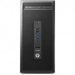 HP EliteDesk 705 G3 AMD Ryzen 5 PRO 1500 8 GB DDR4-SDRAM 256 GB SSD Negro Micro Torre PC 2KR85ET