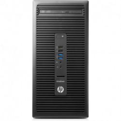 HP EliteDesk 705 G3 AMD Ryzen 5 PRO 1500 8 GB DDR4-SDRAM 256 GB SSD Schwarz Micro Tower PC 2KR85ET