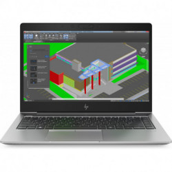 HP ZBook 14u G5 Silver Notebook 35.6 cm (14) 1920 x 1080 pixels 8th gen Intel® Core™ i7 i7-8550U 8 GB DDR4-SDRAM 256 GB 2ZB99ET