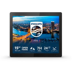 "PHILIPS MONITOR OPEN FRAME 15,6"" 1024x768 4:3 450 CDM, IP65, 10 TOUCH, VGA/DP/DVI/HDMI MULTIMEDIALE"