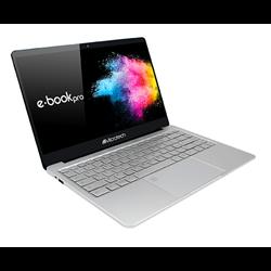 Microtech e-book Pro Silber Ultrabook 35,8 cm (14.1 Zoll) 1920 x 1080 Pixel Intel® Celeron® N4000 4 GB LPDDR4- EB14WIC32/480U