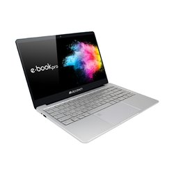 """Microtech e-book Pro N4000 Argent Ordinateur portable 35,8 cm (14.1"""") 1920 x 1080 pixels Intel® Celeron® 4 Go EB14WIC32/480W2"""