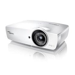 Optoma EH460ST Beamer 4200 ANSI Lumen DLP 1080p (1920x1080) 3D Desktop-Projektor Weiß