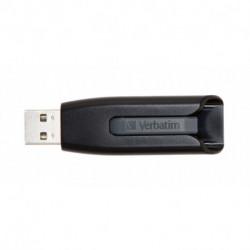 Verbatim V3 lecteur USB flash 64 Go USB Type-A 3.0 (3.1 Gen 1) Noir, Gris 49174