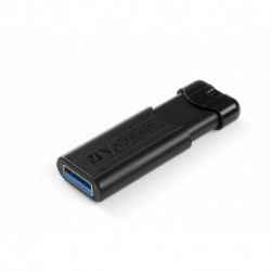 Verbatim PinStripe lecteur USB flash 64 Go USB Type-A 3.0 (3.1 Gen 1) Noir 49318