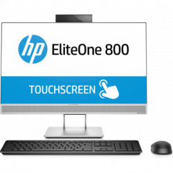 HP EliteOne 800 G4 60.5 cm (23.8) 1920 x 1080 pixels Touchscreen 8th gen Intel® Core™ i5 i5-8500 8 GB DDR4-SDRAM 1000 GB 4KX02ET