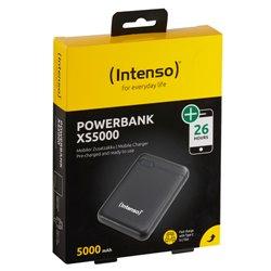 INTENSO POWER BANK 5000MAH USB A+TYPE C 5V-2.1A MICRO USB+TYPE C 5V-2.1A BLACK