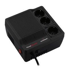 Tecnoware Power Reg 1000VA regulador de voltagem 230 V 3 tomada(s) CA Preto FSTELPRE1000M