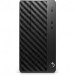 HP 290 G2 Intel® Pentium® Gold G5500 4 GB DDR4-SDRAM 1000 GB Unidad de disco duro Negro Micro Torre PC 6BE60EA