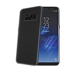 "Celly GELSKIN691BK mobile phone case 15.8 cm (6.2"") Cover Translucent"