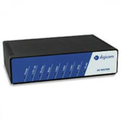 Digicom 8D5858 router sem fios Single-band (2,4 GHz) Ethernet rápida 3G 4G Preto, Azul