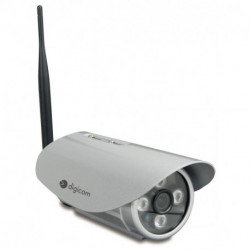 Digicom IPC531-T03 Cámara de seguridad IP Interior Bala Techo/pared 1280 x 720 Pixeles 8E4583