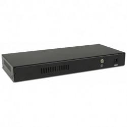 Digicom SWG08-POE Gestionado Fast Ethernet (10/100) Energía sobre Ethernet (PoE) 8E4606